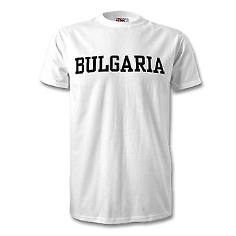 Bulgarien land T-Shirt