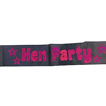 Hen Party Miss Behave Hen Party Sash