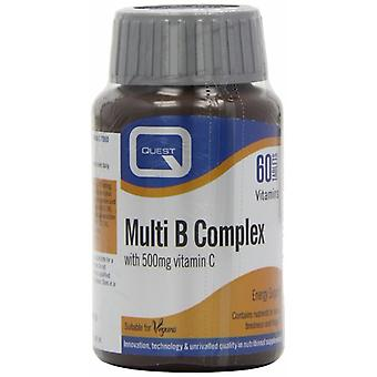 Quest Multi B komplex Vegan, 60 tabletter