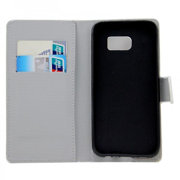 Cases Wallet pattern 9 for Samsung Galaxy S6 G920 G920F
