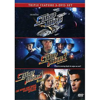 Starship Troopers 1-3 [DVD] USA import