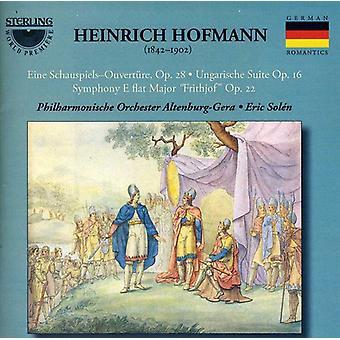 Heinrich Hofman - Heinrich Hofmann: Eine Schauspiels Ouverture; Ungarishe Suite; Symfoni E flade store Frithjof [CD] USA importerer