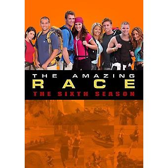 Amazing Race: Sæson 6 [DVD] USA importerer