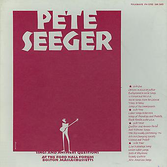 Pete Seeger - Pete Seeger Sings & Answers Questions [CD] USA import