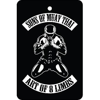 Sons Of Muay Thai Car Air Freshener