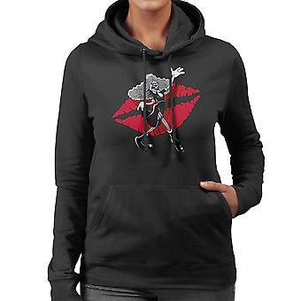 Rocky Horror Picture Show Magenta Women's Hooded Sweatshirt