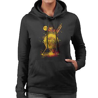 Glänsande Planet rymdskepp Serenity Firefly Women's Hooded Sweatshirt