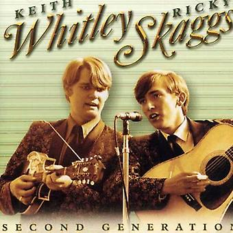 Skaggs/Whitley - anden Generation Bluegrass [CD] USA import