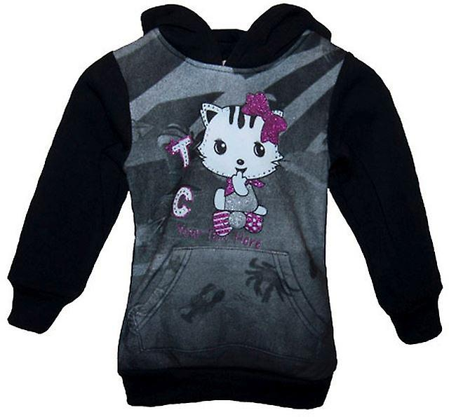 Girls Jumper Cat | kitty hoodie Fleece