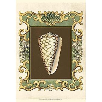 Small Mermaids Shells VI Poster Print by Chariklia Zarris (13 x 19)