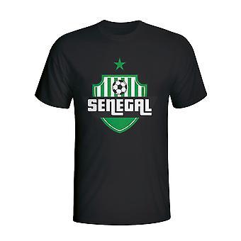 Koszulka z Logo kraju Senegal (czarny)