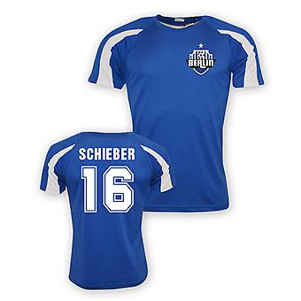 Julian Schieber Hertha Berlin Sports Training Jersey (blue) - Kids