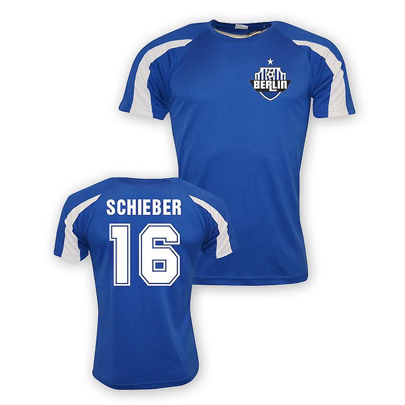 جوليان شيبر هرتا برلين الرياضة التدريب جيرسي (أزرق)-للأطفال