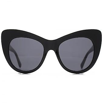 Stella McCartney Falabella Oversized Cateye Sunglasses In Black