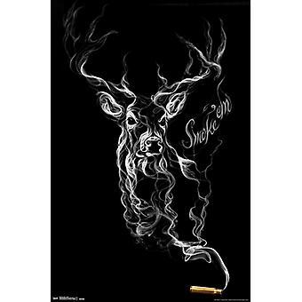 Buck Wear - Rauch Poster drucken