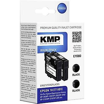 KMP Ink replaced Epson T1801, 18 Compatible Pack of 2