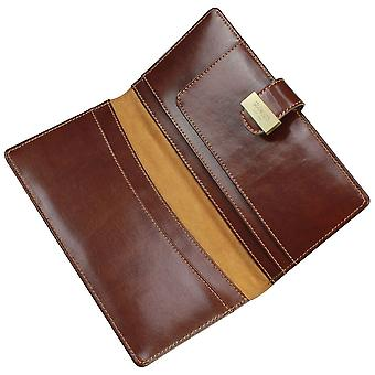 Leather Heritage Chestnut Travel Wallet