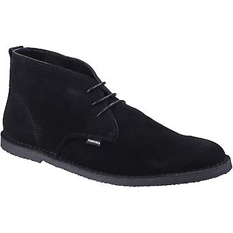 Lambretta Mens Selecter King Casual Suede Lace Up Desert Boots