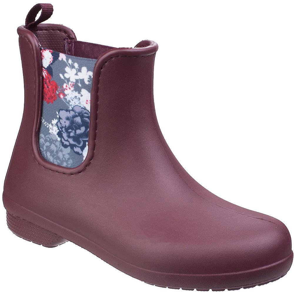 faadae42787198 Crocs Womens Ladies Freesail Elastic Waterproof Wellies Chelsea Boots