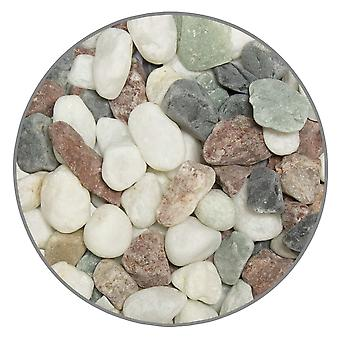 Ica Gravel 15-20Mm Multicolour 5Kg (Fish , Decoration , Gravel & sand)