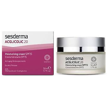 Sesderma Acglicolic 20 Moisturizer Spf15 (Cosmetics , Facial , Creams with treatment)