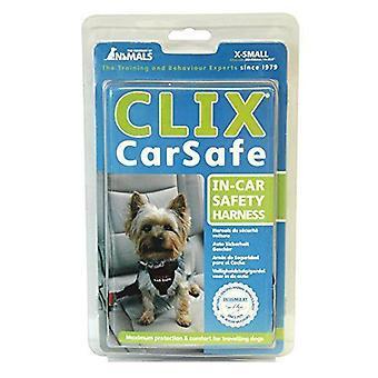 動物 Clix 車安全な犬のハーネスのサイズの会社: エキストラ小 (14 25.5 G)