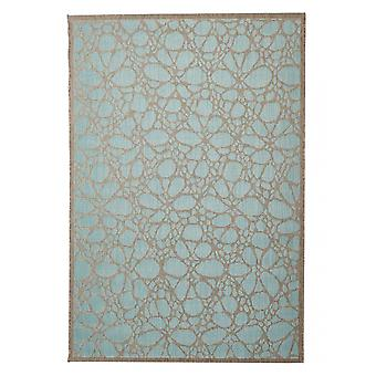 Outdoor carpet for Terrace / balcony contemporary Fiore Aqua 135 / 190 cm carpet indoor / outdoor - for indoors and outdoors