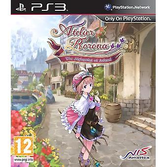 Atelier Rorona alkemisten av Arland (PS3)