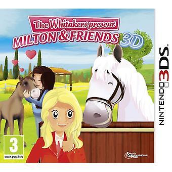 Riding Stables The Whitakers präsentieren, Milton und Freunde (Nintendo 3DS)