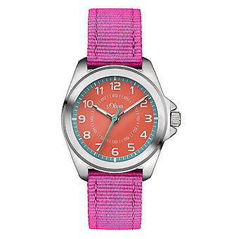 s.Oliver watch kids horloge kinderen SO-3400-LQ