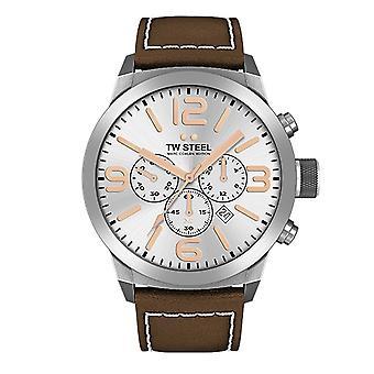 TW stål mænds ur Chrono Marc Coblen Edition TWMC32 wrist watch læder band