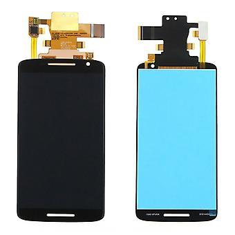 Display LCD complete unit for Motorola Moto X play / X 3rd gen / XT1562 / XT1563 black