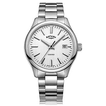 Rotary Mens Oxford Stainless Steel Bracelet GB05092/02 Watch
