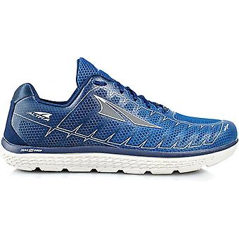 One V3 Mens Zero Drop Road Running Shoes Blue/Grey