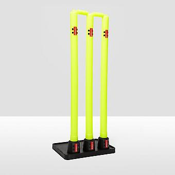 Gray Nicolls Kautschuk Basis Cricket Stümpfe