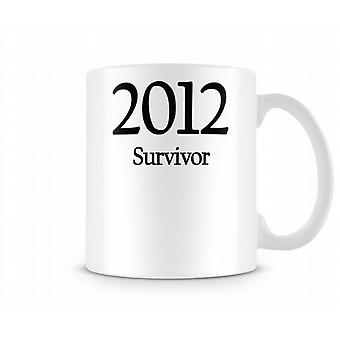2012 Survivor Printed Mug