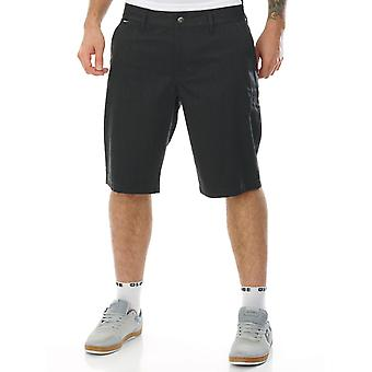 Fox Charcoal Essex Pinstripe - 22 Inch Walkshorts