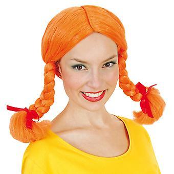 Gade orange wig braids sassy girl