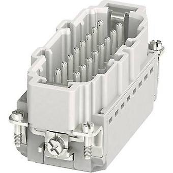 Pin inset HC-B 1407732 Phoenix Contact 16 + PE Plug & Clip 1 pc(s)