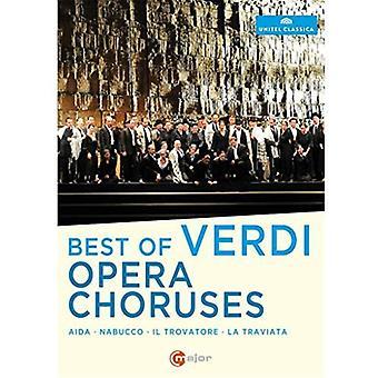 Mejor de importación USA de coros de la ópera de Verdi [DVD]