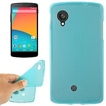Custodia protettiva per il telefono cellulare LG Google nexus 5 / E980 blu / turchese