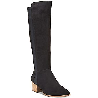 Style & Co. Womens Finnly Suede Closed Toe Over Knee Fashion Boots