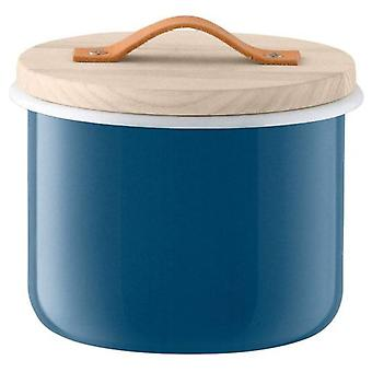 Lsa Utility Container & Ash Handle Juniper Ø18cm Blue *