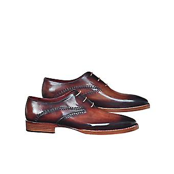 Handcrafted Premium Leather Rudolf B Oxford Shoe