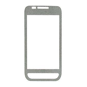 OEM-Verizon Samsung SCH-I500 Glitter Displayschutzfolie (Silber) (Bulk P faszinieren
