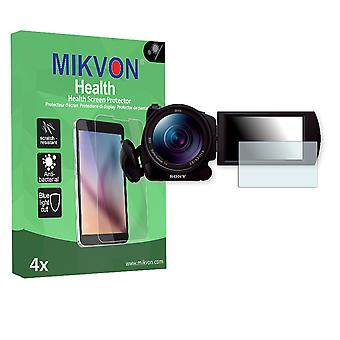 Sony FDR-AX100E Screen Protector - Mikvon Health (Retail Package with accessories)