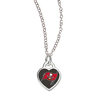Wincraft ladies Heart Necklace - NFL Tampa Bay Buccaneers