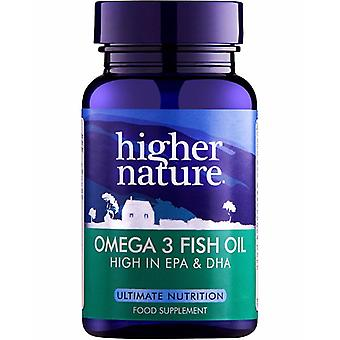 Higher Nature Omega 3 Fish Oil, 90 capsules