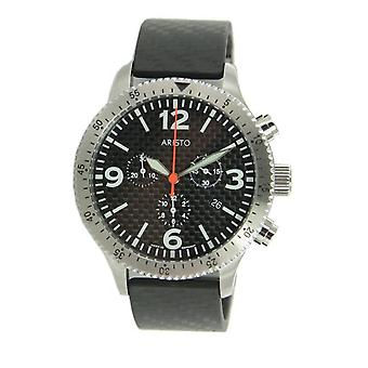 Aristo mens watch Chronograph Carbon 7 H 76