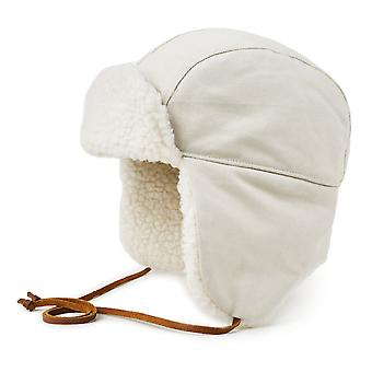 Brixton Baron II Ear Flap Cap Cream